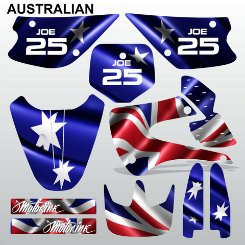 Kawasaki KX 85-100 2001-2012 AUSTRALIAN motocross decals set MX graphics kit