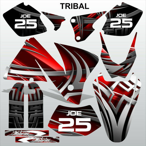 KTM EXC 2001-2002 TRIBAL motocross decals stripes racing set MX graphics kit