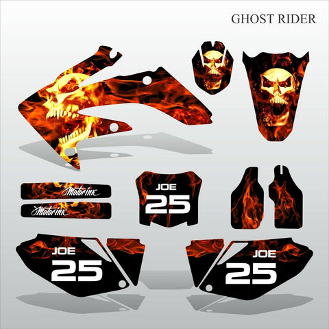 Honda CRF 250 2008-2009 GHOST RIDER motocross decals set MX graphics kit