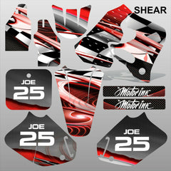 Honda CR125 CR250 93-94 SHEAR motocross decals racing set MX graphics kit