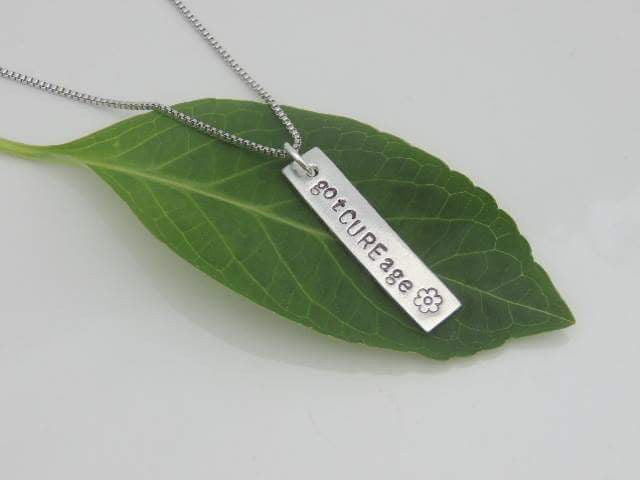gotCUREage Bar Necklace