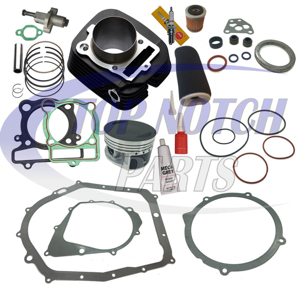 NEW! YAMAHA RAPTOR 350 CYLINDER PISTON GASKET OIL AIR FILTER TOP END KIT SET 2004 - 2011