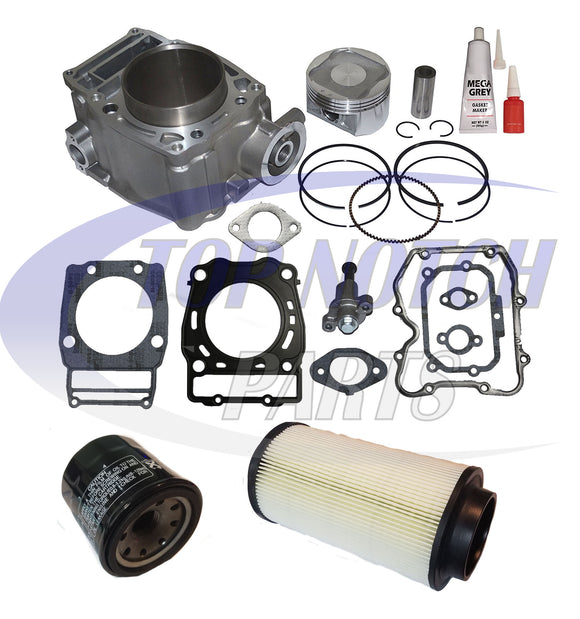 POLARIS ATP 500 4X4 CYLINDER PISTON GASKET TOP END KIT SET 2004 2005