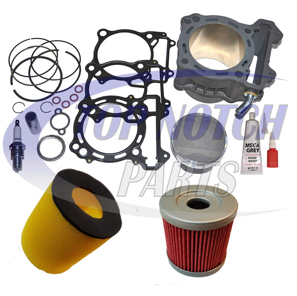 434cc BIG BORE CYLINDER PISTON GASKET FITS ARCTIC CAT DVX 400 TOP END KIT 2004-2008