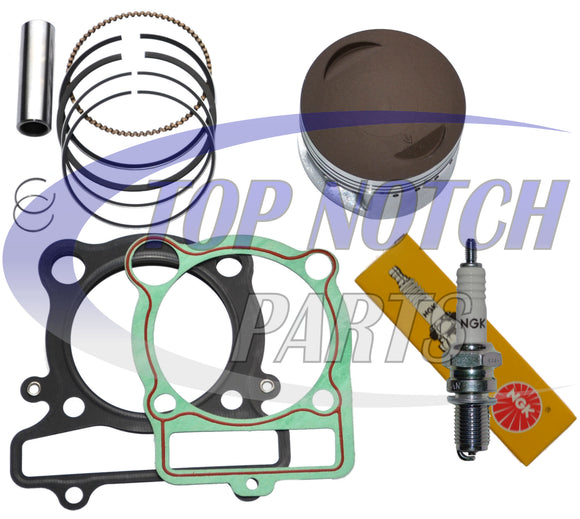 YAMAHA WARRIOR 350 PISTON RINGS GASKET NGK SPARK PLUG KIT SET YFM 350 1987 - 2004