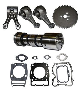 CAMSHAFT CAM ROCKER ARM GEAR KIT GASKET SET FITS POLARIS RANGER 500 2X4 4X4 6X6 1999 - 2012 FREE FEDEX 2 DAY SHIPPING