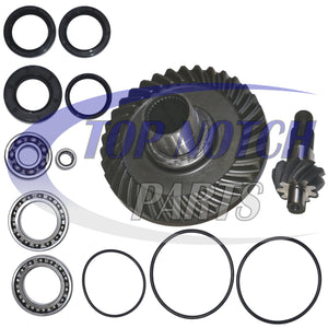 Fourtrax Rear Differential Ring and Pinion Gear & Bearing Fits 1988-2000 Honda TRX300FW 300