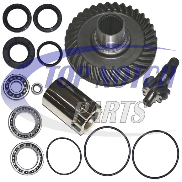 Rear Differential Ring and Pinion Gear Plus Kit Fits 88-00 Honda TRX300FW 300 Fourtrax