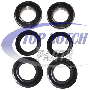 TOP NOTCH PARTS Rear Left Right Wheel Bearing Seal Kit for Honda TRX300 300 4x4 FourTrax 1988-2000