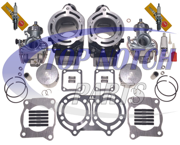 NEW YAMAHA BANSHEE 350 CARBURETOR CYLINDER PISTON GASKET TOP END KIT 1987-2006