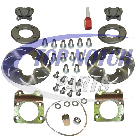 HONDA LEFT RIGHT DISC BRAKE CONVERSION KIT