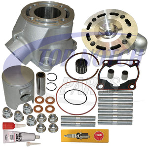 YAMAHA YZ85 YZ 85 CYLINDER HEAD PISTON RING GASKET TOP END KIT 2002-2014