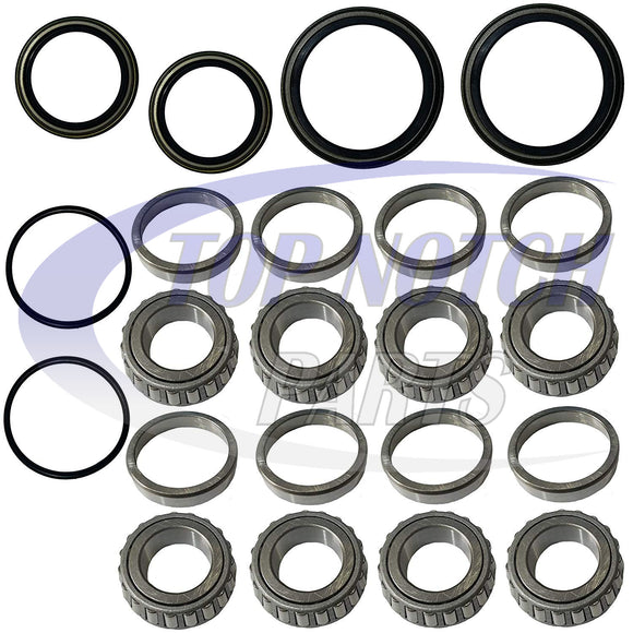 Front Wheel Bearings Seal Kit For Polaris Sportsman Worker 335 400 500 1995-2004 FREE FEDEX 2 DAY SHIPPING