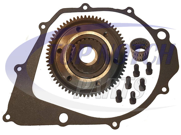 New Starter Clutch And Gasket For Yamaha Raptor 350 2005-2013 YFM350R FREE FEDEX 2 DAY SHIPPING