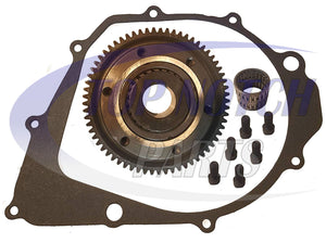 New Starter Clutch And Gasket For Yamaha Moto 4 350 1987-1995 YFM350ER FREE FEDEX 2 DAY SHIPPING