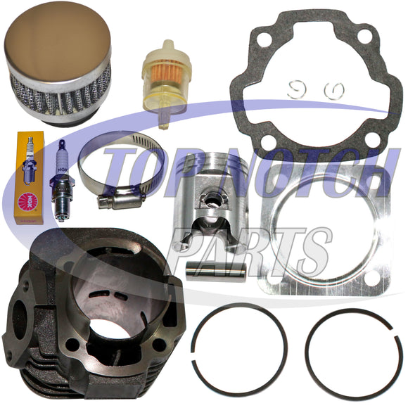 CAN AM MINI DS 90 BOMBARDIER DS90 CYLINDER PISTON KIT GASKETS CLIPS 2002 - 2006