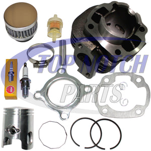 CAN-AM MINI DS 50 BOMBARDIER CYLINDER PISTON KIT RINGS GASKET PIN 2002 - 2006