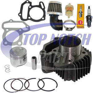 YAMAHA YFM 80 RAPTOR 80 PISTON CYLINDER GASKETS RINGS PIN CLIPS KIT 2002 - 2008