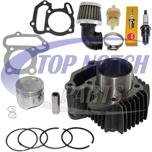 YAMAHA GRIZZLY 80 YFM 80 CYLINDER PISTON KIT SET RINGS GASKETS PIN 2005 - 2008