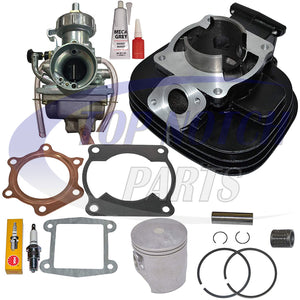 CYLINDER CARBURETOR PISTON GASKET FITS YAMAHA BLASTER 200 YFS200 TOP END KIT SET 1988-2006