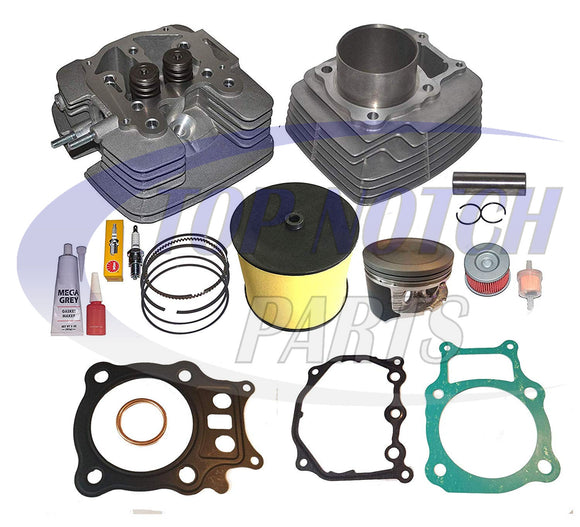 Honda Rancher Trx350 TRX 350 Big Bore 355cc Cylinder Head Piston Kit 2000-2006