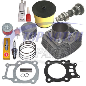 HONDA RANCHER TRX350 TRX 350 CYLINDER PISTON RINGS CAMSHAFT KIT SET 2000 2001 2002 2003 2004 2005 2006