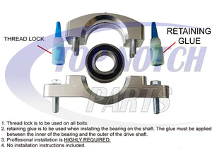 Driveshaft Carrier Bearing Fits 2012-2014 Polaris RZR XP 900 4 900 Heavy Duty FREE FEDEX 2 DAY SHIPPING