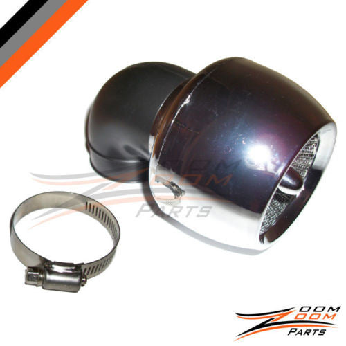 Performance Racing Air Filter GY6 150 150cc Cleaner Scooter Moped Gokart  SILVER - Zoom Zoom Parts