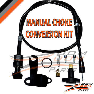 POLARIS SPORTSMAN 90 MANUAL CHOKE CABLE CONVERSION KIT SET 2001-2006