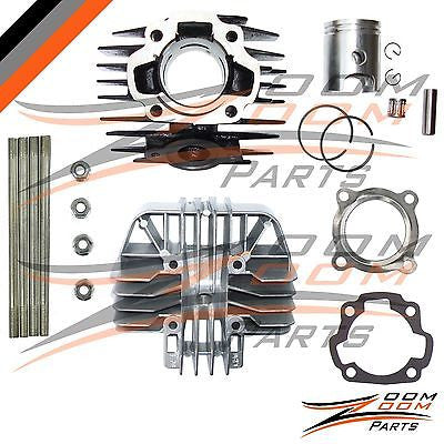 YAMAHA PW 80 PW80 Cylinder Gasket Piston Ring Kit Set Top End 1983-2006 Bike