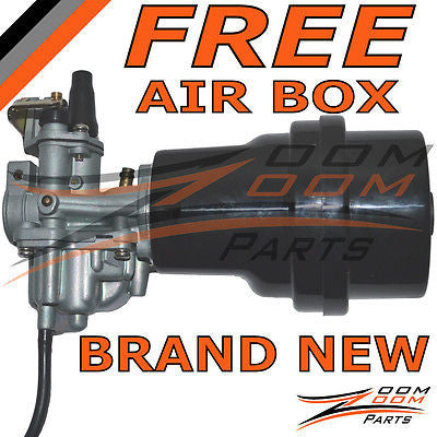 SUZUKI LT 50 LT50 CARBURETOR & AIR FILTER BOX 2002 2003 2004 2005 LT-A 50 Carb