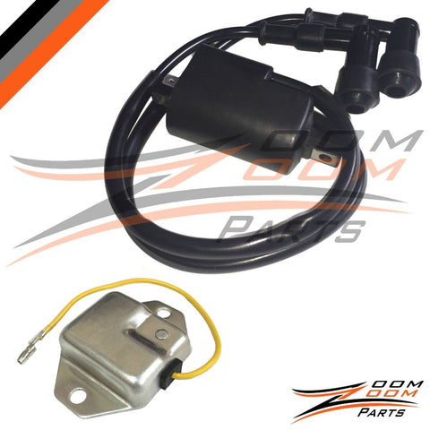 REGULATOR RECTIFIER & IGNITION COIL Fits YAMAHA BANSHEE 350 YFZ350 1995 - 2006 FREE FEDEX 2 DAY SHIPPING