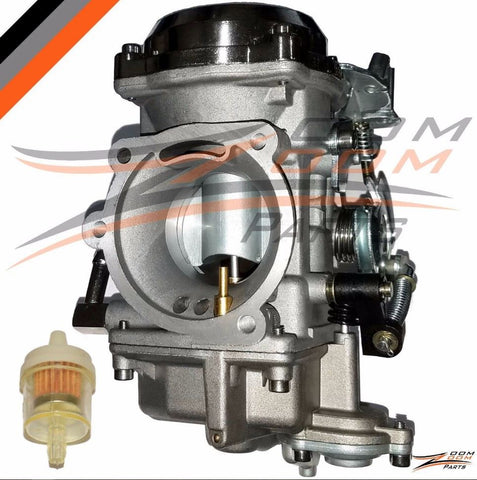 NEW CARBURETOR FOR HARLEY DAVIDSON XL1200 DANA ELECTRA GLIDE FATBOY TOURING SPORTSTER SOFTAIL ROAD KING SUPER GLIDE XL883 EVOLUTION SHOVELHEAD CV40