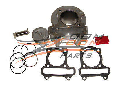Big Bore Kit GY6 50cc to 80cc Scooter Moped 139 QMB 139QMB Cylinder Piston  Rings - Zoom Zoom Parts