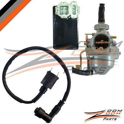 2004 - 2009 Honda CRF 50 CRF50 Carburetor CDI Box Ignition coil 50cc Carb Bike