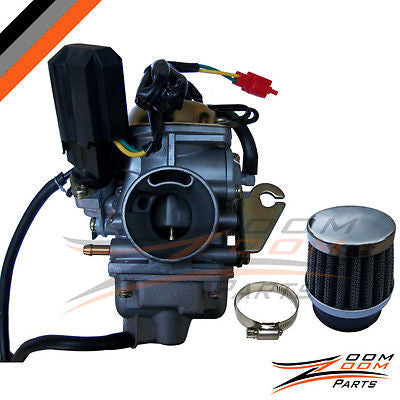 26mm Carburetor Performance Air Filter 150cc GY6 150 - Zoom Zoom Parts