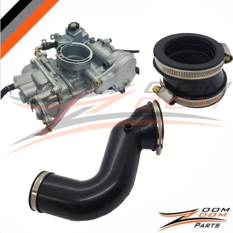 FCR Carburetor and Intake conversion Kit For 2003-2007 SUZUKI  LTZ 400 / 2004-2007 ARCTIC CAT DVX 400 / 2003-2006 KAWASAKI KFX 400 FREE FEDEX 2 DAY SHIPPING
