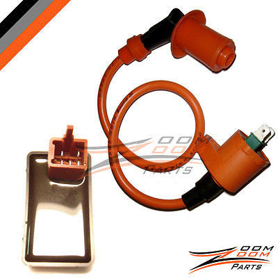 CDI Box Racing Ignition Coil Jonway Eagle Tank Gokart ATV 50cc 90cc 110cc 125cc