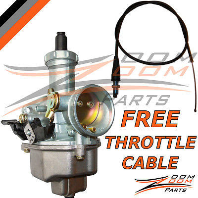 HONDA XR 100 CARBURETOR XR 100R XR100R XR100 1981-2003 FREE THROTTLE CABLE TCL