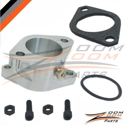 Upgraded Aluminum Intake Boot For 1987-2004 Yamaha Warrior 350 Yfm 350 Carburetor Gasket O-ring MADE IN U.S.A  FREE FEDEX 2 DAY SHIPPING