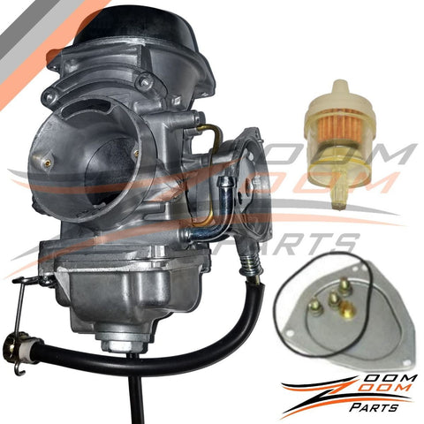 CARBURETOR POLARIS SPORTSMAN 500 4X4 HO 2001-2005 2010 2011 2012 CARB FREE FEDEX 2 DAY SHIPPING