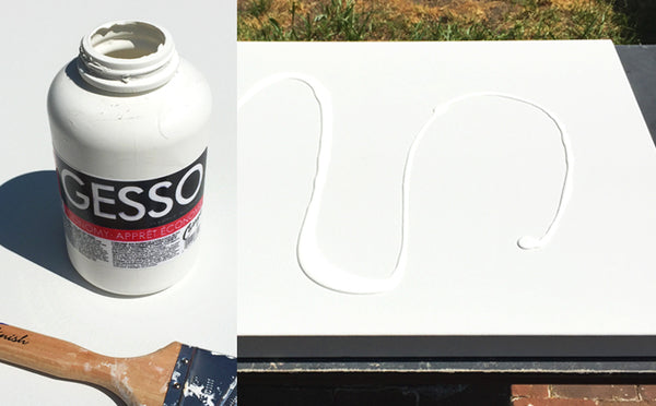 gesso painting primer