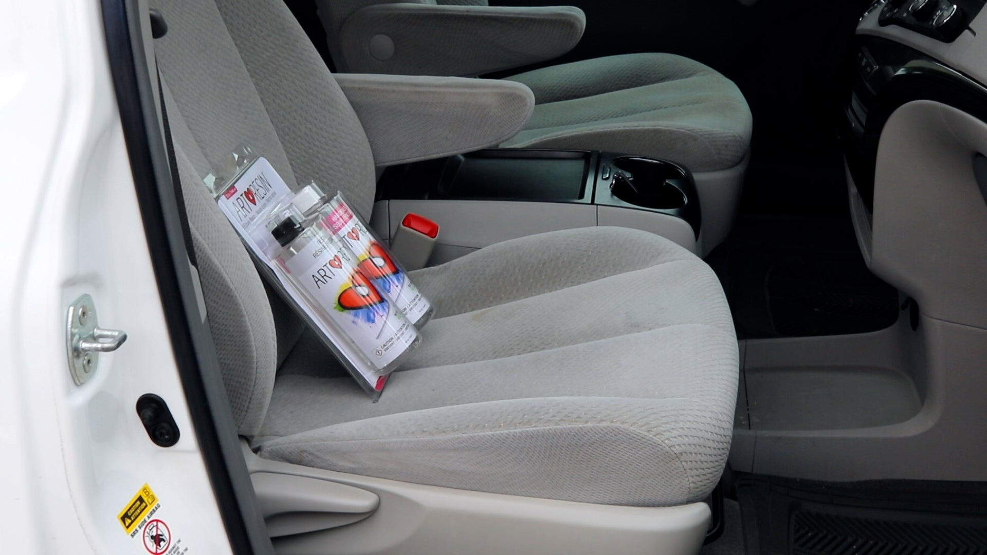 let resin cool down after being in a hot car before you use it