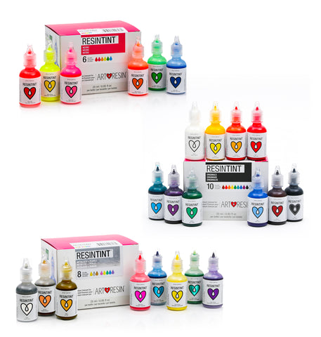 ResinTint Complete Set BUNDLE - 24 Colors