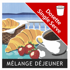 Breakfast Blend Single Serve|Mélange Petit Déjeuner en dosettes