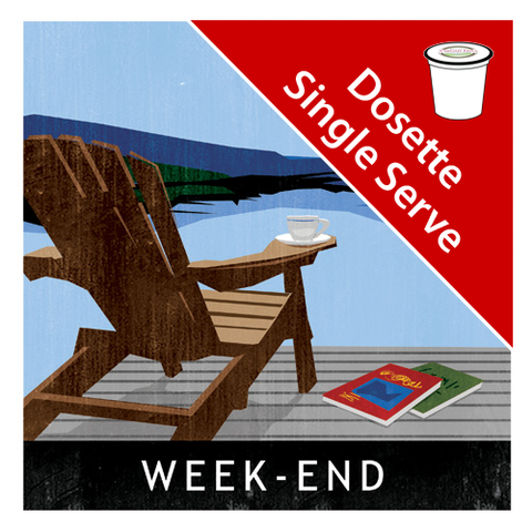 Weekend Blend Single Serve|Mélange Week-end en dosettes