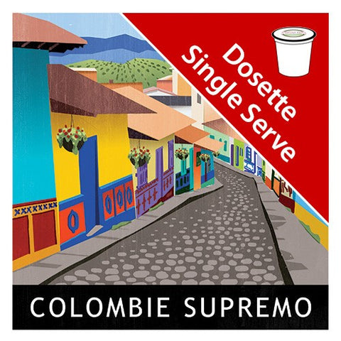 Colombian Supremo Brown single serve|Colombie brun en dosettes