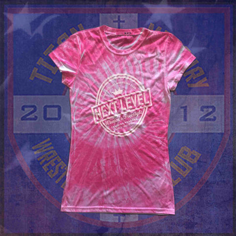 TMWC next level women's tie dye shirt ON SALE AT 50% OFF