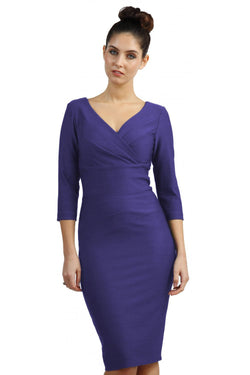 Diva Barton Dress, Seed, Dawn Indigo Blue