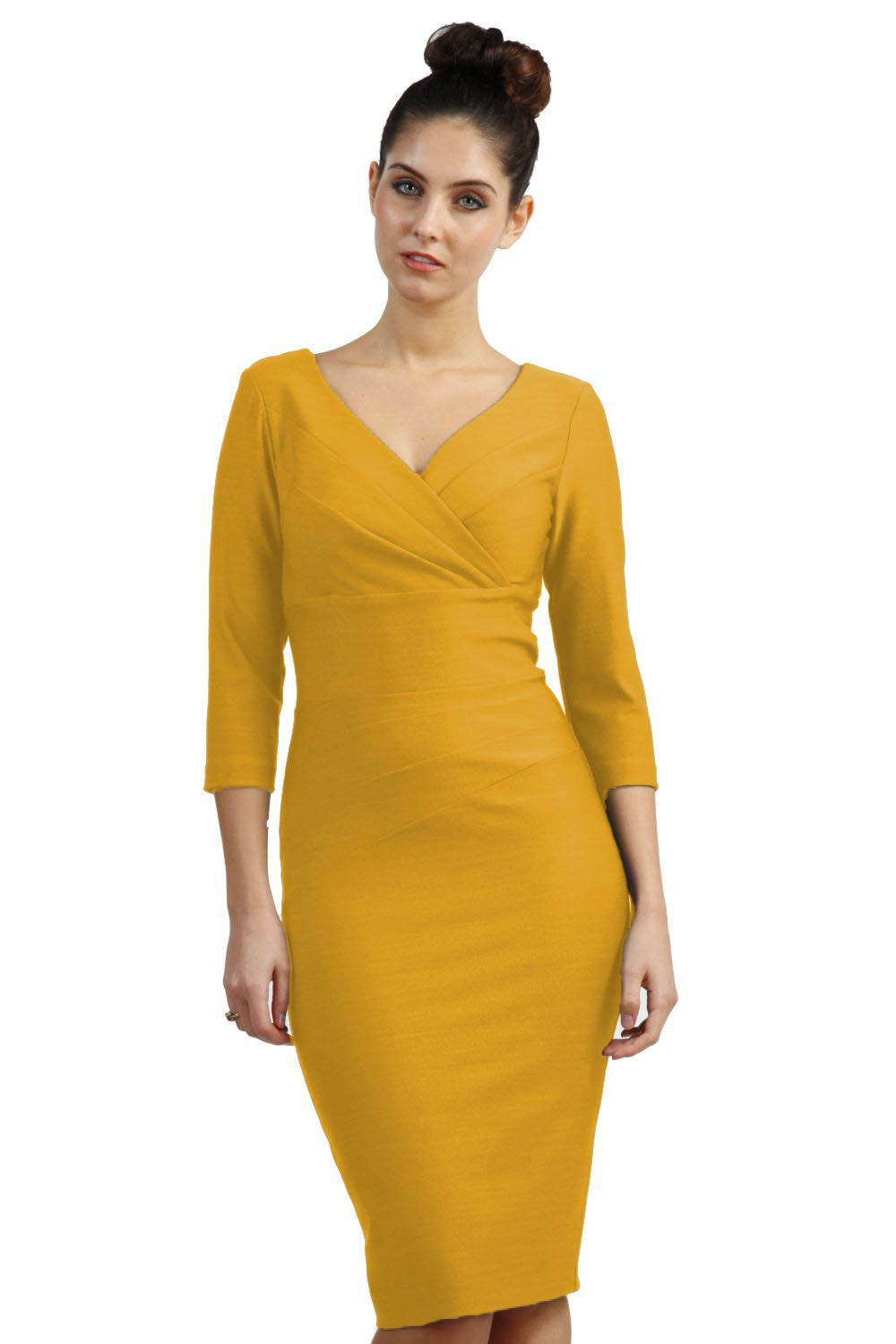 Diva Barton Dress, Seed, Daffodil Yellow